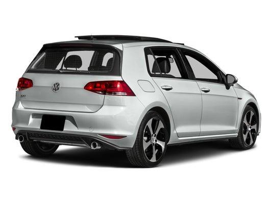 2017 Vw Gti Sport >> 2017 Volkswagen Golf Gti Sport